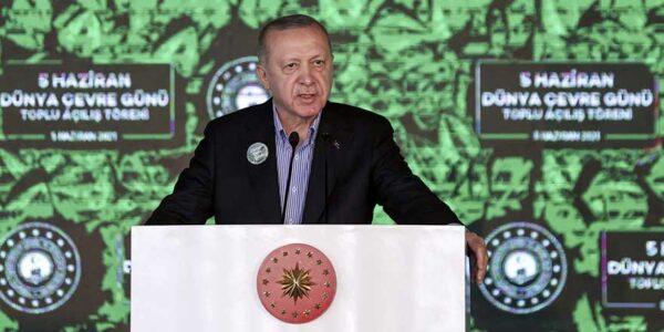 Pendik Millet Bahçesi Açılışını Cumhurbaşkanı Erdoğan Yaptı