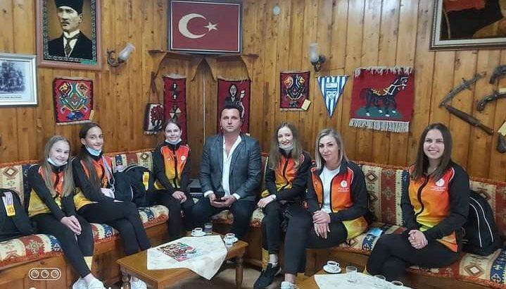 Bosnalı Jimnastikçiler Ağırlandı