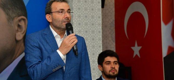Başkan Ahmet Cin: 2023 yılı seçimleri hem Türkiye hem de mazlumlar için çok önemlidir