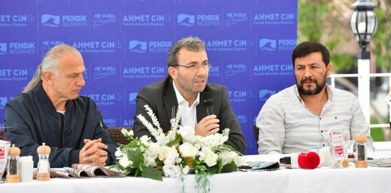 Başkan Ahmet Cin: Pendik'in yaşam kalitesini artırıyoruz