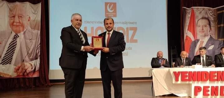 Yeniden Refah'ta İlçe Başkanı Yeniden Fahrettin Karakurt seçildi