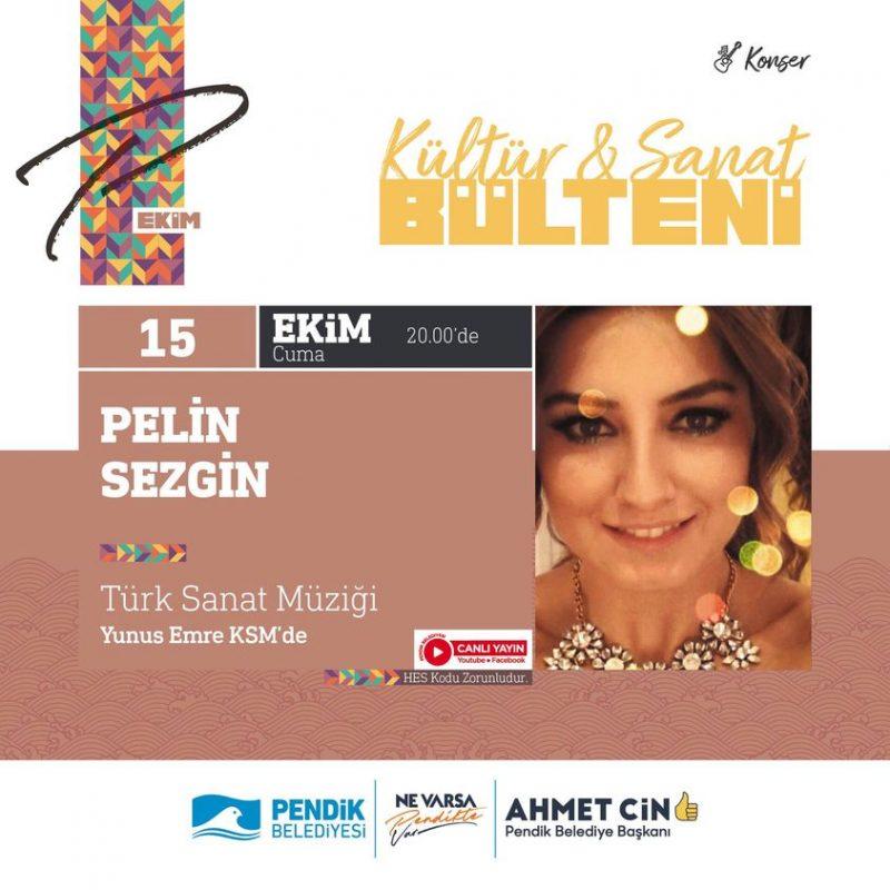 """""""Pelin Sezgin"""" Türk Sanat Müziği Konseri"""