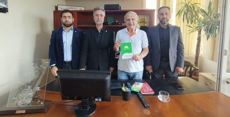 HÜDA PAR Yönetiminden Gazetemize Nezaket Ziyareti