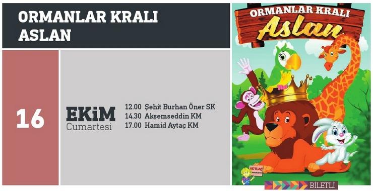 ORMANLAR KRALI ASLAN – Çocuk Tiyatrosu (12:00)