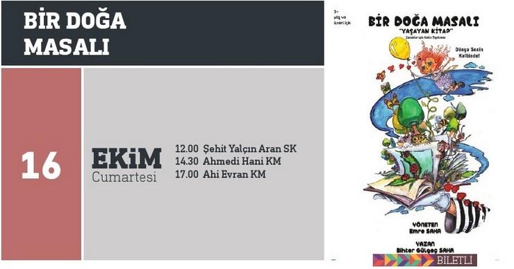 BİR DOĞA MASALI – Çocuk Tiyatrosu (12:00)